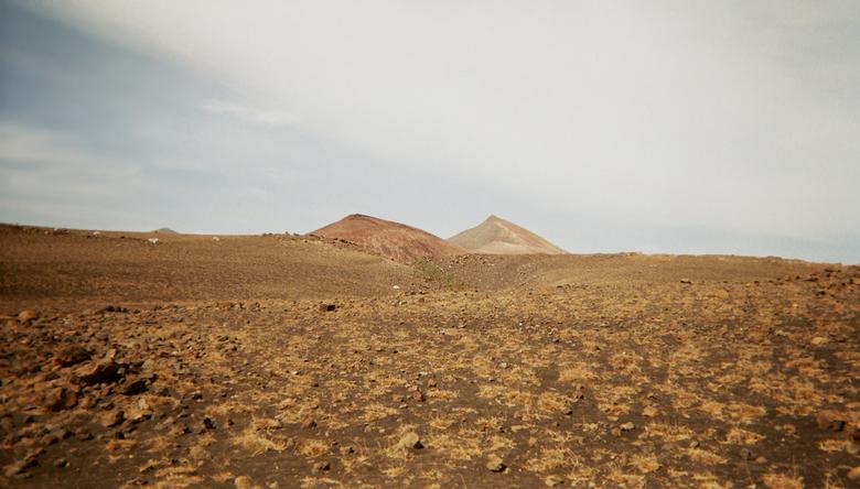 Op het pad naar Playa Quemada - Het uitzicht tijdens een wandeling op het eiland Lanzarote, van Puerto Calero naar Playa Quamada.