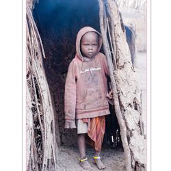 Child of Masaï, Tanzania