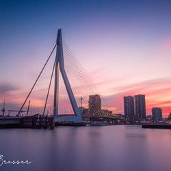 Sunset by Rotterdam