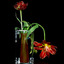 bloemetjes in een vaasje.................