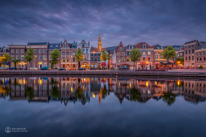 Blue Hour at Haarlem