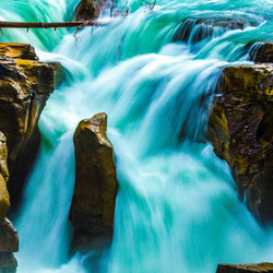 waterval in Canada