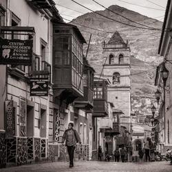 Door de straten van Bolivia