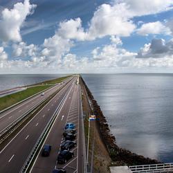 Afsluitdijk panorama