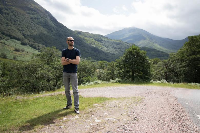 Stilte in Schotland -
