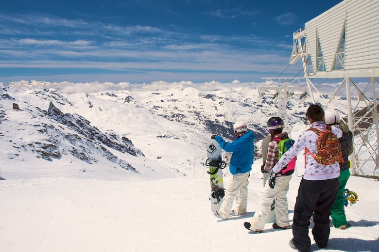 Top of the world - Val Thorens.