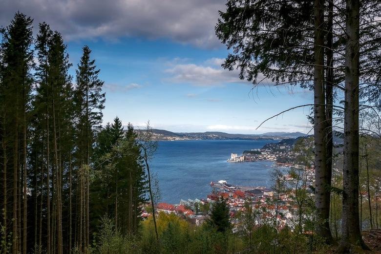Uitzicht  - Foto uit Bergen, Noorwegen van een paar jaar geleden. Was daar met mijn vader, die zijn zus bezocht.