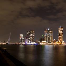 Rotterdam at night!