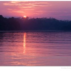 Amazone Sunset