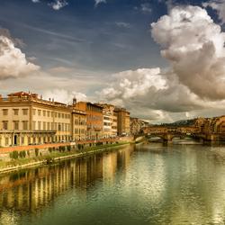 Nederlandse wolken boven Florence