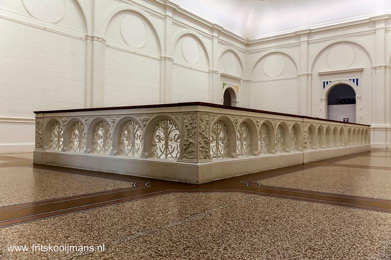 Omheining trap Stedelijk Museum Amsterdam - 201503146183 Omheining trap Stedelijk Museum Amsterdam