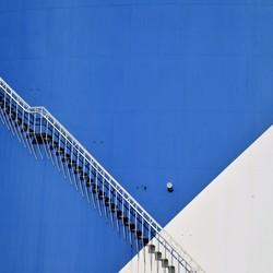 The bleu stair