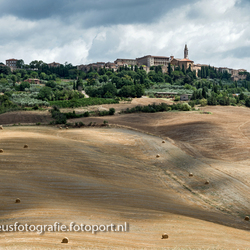 View on Pienza
