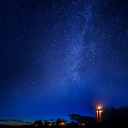 Milky Way Lighthouse