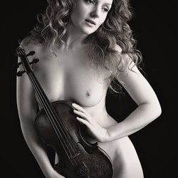 my violin and me