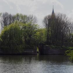 Oude waterpoort in Naarden