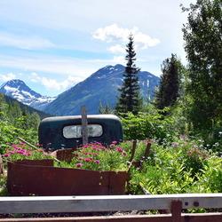 Crow creek mine, Goudzoekers dorp in Alaska