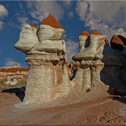Blue canyon hoodoo