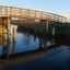 Weerspiegelende brug