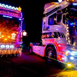 Verlichte Truckrit Twente