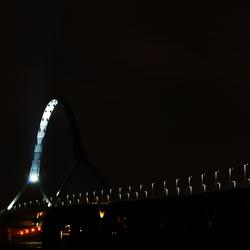 Nijmegen bridge, 05:30, on a sunday
