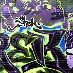 GRAFITTI DRIELUIK IN ROTTERDAM