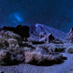 El Pico del Teide by night