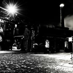 Bewerking: Nachtfoto Fabriek I