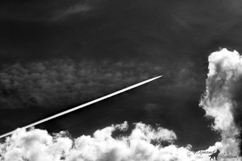 Where does the journey go, high through the air