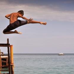 Karate Kid op Lombok