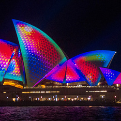 Opera House Sydney Vivid Lightshow B09A2457