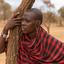 portret masai