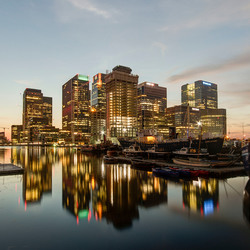 Londen - Canary Wharf - South Quai Walk - 02