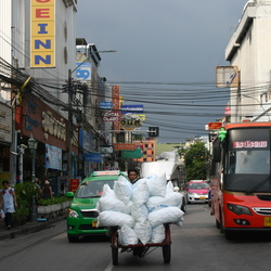 A normal day in Bangkok town
