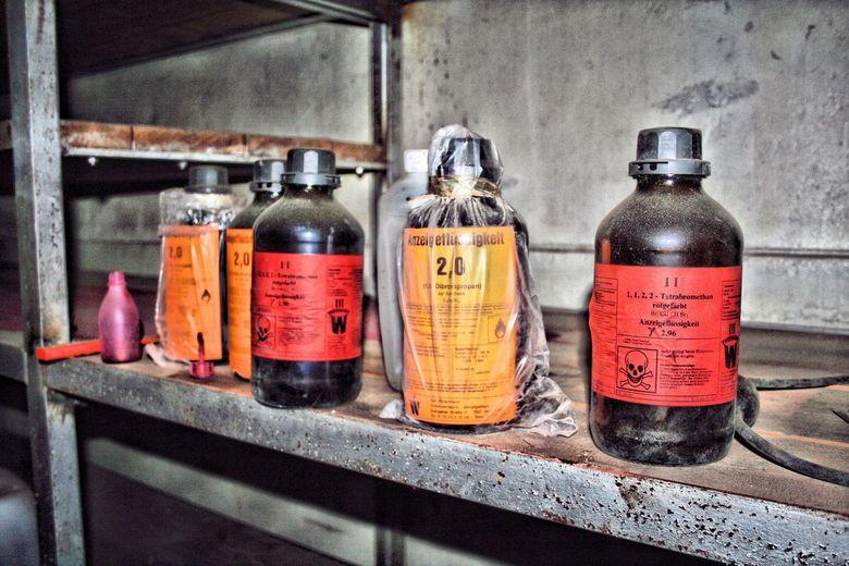 My empty bottle -