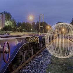 Ball of Light on the rails