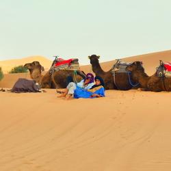 Berbers in de Sahara