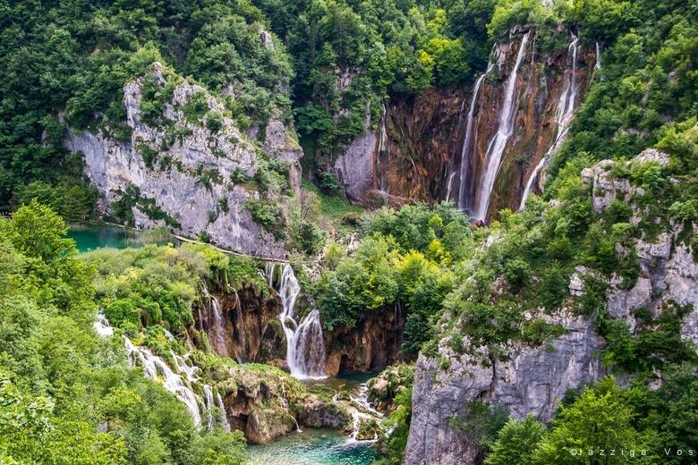 Nationaal Park Plitvice - afgelopen vakantie waren we daar geweest , daar is zo mooi...