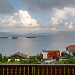 Hardangerfjord Noorwegen.
