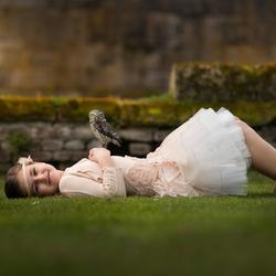 Little princes en her owl