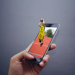 3D telefoon