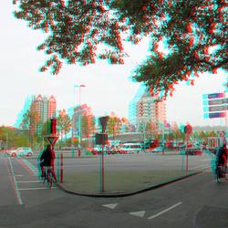 Blaak Rotterdam 3D GoPro
