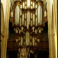 Hoofd orgel van de Bovenkerk