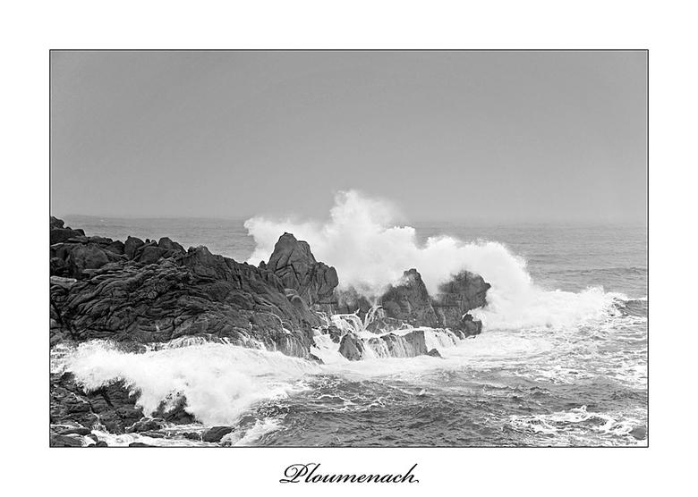 Storm in Ploumenach - Fantastisch om dit mee te maken.<br /> Jij en je camera worden door en door nat, maar toch wil je dit niet missen. It makes you