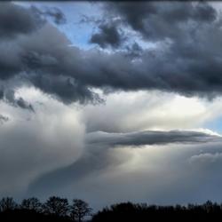 Angstsaanjagende wolken