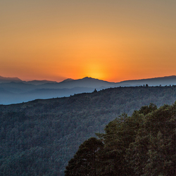 sunrise at the Himalaya
