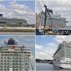 Het cruiseschip Britannia.