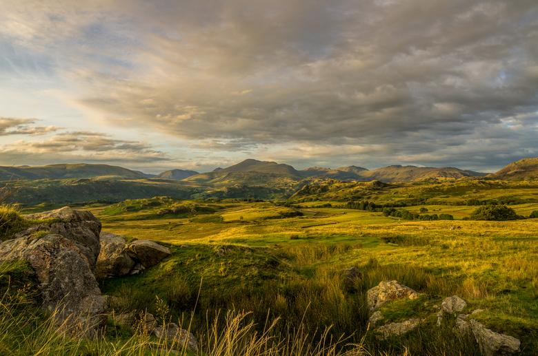 Avond in The Lake District - Avond in Birker Fell