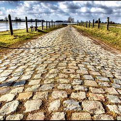 Weg bij de Maas