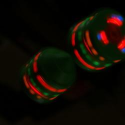 spelen met licht en snelheid